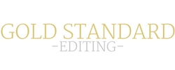 Gold Standard Editing Logo